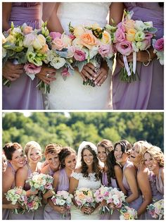 Adore the colors of the bridal bouquets and bridesmaids dresses at the Destiny Hill Farm Wedding. Check out this gorgeous Pittsburgh wedding venue - http://www.pittsburghwedding.com/vendor-directory/destiny-hill-farm-468.html