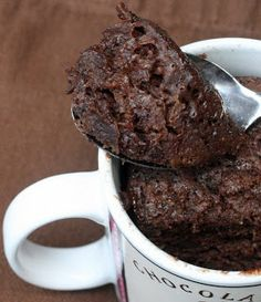 Carbquick chocolate cake in a mug. Good!