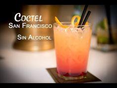 Como Hacer un Coctel San Francisco Bebida sin Alcohol - YouTube