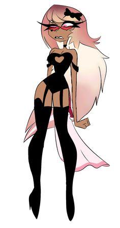 Anime Neko, Kawaii Anime, Girl Cartoon, Cartoon Art, Cute Drawlings, Monster Hotel, Art Ideas For Teens, Vivziepop Hazbin Hotel, Anime Poses Reference