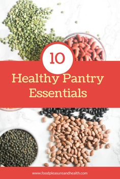 10 Healthy Pantry Essentials