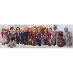 PREORDER Patterns Set of 15 + 1 Companions and Villains Doctors Who Time Travel Crochet Amigurumi plus Police Box FREE by craftyiscoolcrochet on Etsy https://www.etsy.com/listing/215747299/preorder-patterns-set-of-15-1-companions