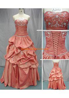 Herz-ausschnitt A-linie Bodenlang Schönes Brautkleid 2013 aus Satin mit Applikation
