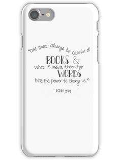 Tessa Gray Quote iPhone 7 Snap Case