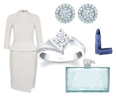 """""""Icy Winter Wonderland"""" by bengarelick ❤ liked on Polyvore featuring Lipstick Queen, Kate Spade, women's clothing, women, female, woman, misses, juniors, GetTheLook and cold"""