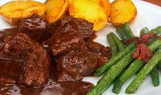 Crockpot, Steak, Bacon, Pork, Beef, Breakfast, Ethnic Recipes, Game, Diet