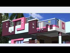 Home Gallery Design Ideas with regard to House House Porch Design, House Front Wall Design, House Outer Design, Single Floor House Design, House Outside Design, Village House Design, Duplex House Design, Kerala House Design, Balcony Design