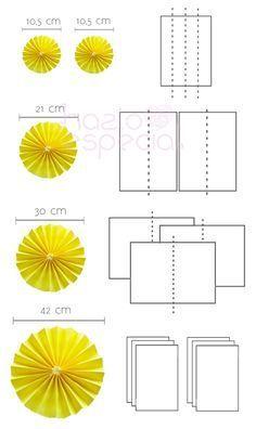 Resultado de imagen para rosetas de papel de comunion