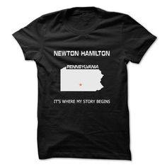 I Love Newton Hamilton-PA08 Shirts & Tees