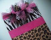 Pink,Zebra,Animal Print Clipboard