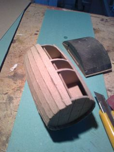 Foro de Belenismo - Paso a paso -> Como hacer un tonel con carton