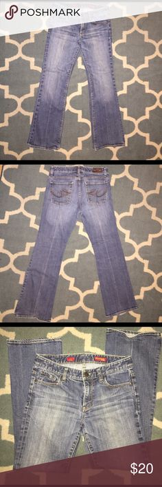Express Jeans Mia Boot Leg Express Jeans. Mia Boot Leg. Size 6S. Great pair of used jeans. Very loved. Express Jeans Boot Cut