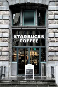 Starbucks | Antwerp Central Station, Belgium