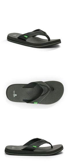 24c0eeda0be Mens Shoes 45054  Sanuk Men S Yoga Mat Beer Cozy Flip-Flop Thong Sandals