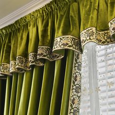 New arrival Twynam Blue and Green Pencil Pleated Valance and Sheers Custom Made Chenille Velvet Curtains Pair. one pair velvet curtains and one pair sheers and one panel velvet valance. Ikea Curtains, Beige Curtains, Purple Curtains, Elegant Curtains, Vintage Curtains, Shabby Chic Curtains, Drop Cloth Curtains, Floral Curtains, Rustic Curtains
