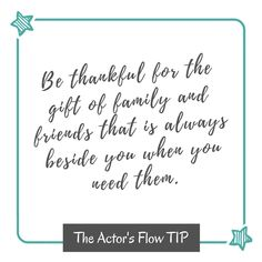 Are you willing to practice the habit of being thankful with the people around you?❤  #ThankfulTuesday #actorsflowlife #livetruly #gratitude #grateful #instagood #smile #blessed #wisewords #selflove #wordsofwisdom #wellness #empower #lifequotes #enlightenment #appreciate #kindness #smile #reflect
