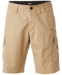 The perfect choice for your active lifestyle, these Slambozo cargo shorts from Fox upgrade your casual wardrobe with a classic fit and an array of pockets for keeping your daily essentials at hand. Fox Man, Beige Shorts, Dark Khaki, Dresses With Leggings, Baby Clothes Shops, Trendy Plus Size, Cotton, Fox Racing