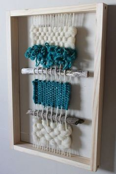 Tamaño 30 x 50 cm Más Weaving Textiles, Weaving Art, Tapestry Weaving, Loom Weaving, Yarn Wall Hanging, Textile Fiber Art, Weaving Projects, Tear, Weaving Techniques