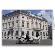 Austrian Federal Chancellery at Ballhausplatz Greeting Card