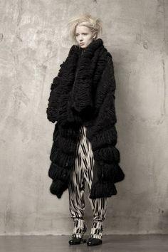 Uma Wang, FW 2011 | knitGrandeur®