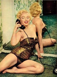 When women who had curves were the ideal. Marilyn - 1951