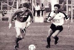Young Arsene Wenger playing football!!!