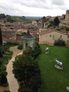 Relais & Chateaux Hostellerie de Plaisance, St. Emilion, Bordeaux, photo by Capecodgal