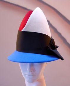 Stephen Jones Millinery - Mockba - Jubilee A/W 2005 Suzy, Stephen Jones, Love Hat, Felt Hat, Hat Making, Haberdashery, Headpieces, Fashion Accessories, Veils