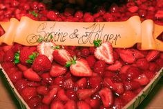 Wedding Couples, Wedding Day, Floral Arrangements, Strawberry, Fruit, Food, Pi Day Wedding, Wedding Anniversary, Strawberries