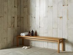 Lappatto means a semi-polished finish on these aged effect plank tiles.
