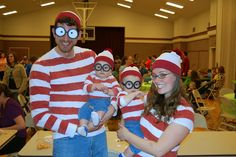Where's Waldo family costume