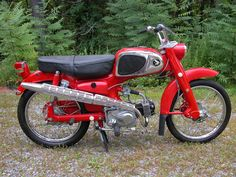 My first motorcycle at 14....Honda 50 Sport. Would I love to have that bike back today!
