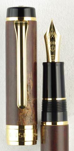 Sailor Precious Woods Kabazaiku Fountain Pen