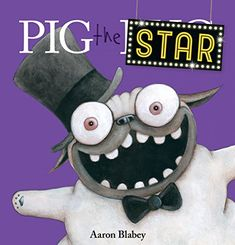 """Read """"Pig the Star (Pig the Pug)"""" by Aaron Blabey available from Rakuten Kobo. The world's most self-centered pug wants to be the star of a fun photo shoot. He pushes his good friend, Trevor, out of . New Children's Books, Dog Books, Library Books, Fun Photo, Pig Costumes, Eye Illustration, Illustrations, Carlin, Lessons For Kids"""