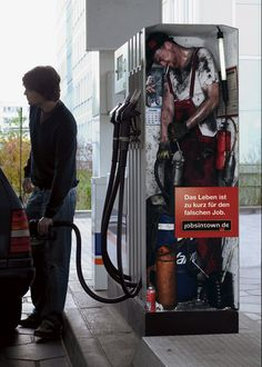 Jobs in Town.de 'gaspump':'Life's too short for the wrong job'