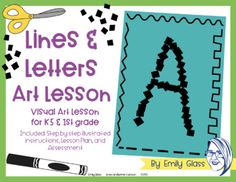 Letter Art, Letters, Grade 1, Art Lessons, Art Projects, Learning, Color Art Lessons, Studying, Letter