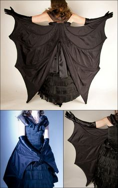Updated Post on the DIY Bat Dress Pattern from EvaDress All...