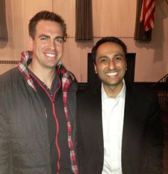 Zac and Eboo Patel from Interfaith Youth Core.