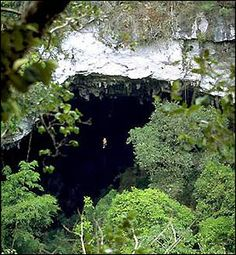 The Black Drop - I did this at Ian Anderson's Caves Branch Belize