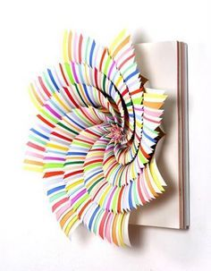 hypnotizing paper flower by Jen Shark