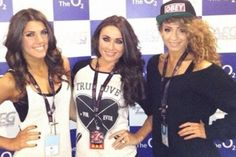 "Danielle is wearing the snapback that Liam gave her that says ""obey"" yesterday!"