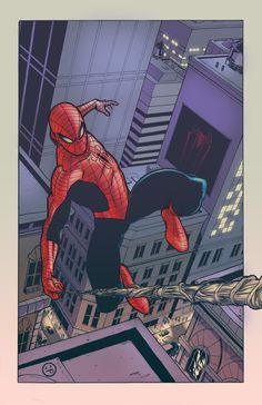 Young-Art Spider-man colours by AndrewKwan on DeviantArt