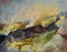 Jurajska Skała- 40x50 oil on canvas