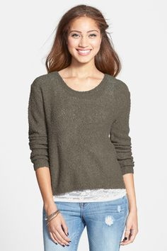 Boucle Pullover (Juniors)