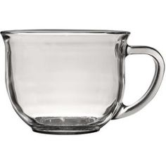 Bulk Clear Glass Mugs, 18 oz. at DollarTree.com