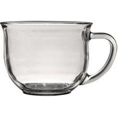 Bulk Clear Glass Mugs, 18 oz. at DollarTree.com