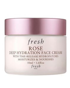 The definitive cult classic, fresh's Rose Deep Hydration Face Cream may be extremely lightweight but it packs a powerful moisture punch, attracting and increasing moisture levels for up in order to twenty four hours of deep hydration. Hydropatches of hyaluronic acidity form a moisturising veil to lock in plus seal moisture for the particular day while the blend of rose water, increased flower oil, angelica leaf extract, and vitamin Electronic quench and soothe dry skin. Boasting a light plus…