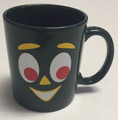 Gumby Coffee Mug Happy Honda Days Sales Event Prema Toy Inc Promotional #PremaToyCo