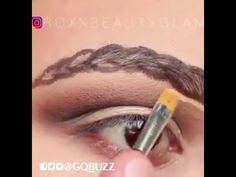 How To Do The New Braided Brows Trend 😆 - By Roxxbeautyglam