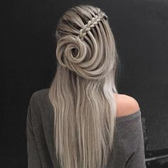 Top 60 All the Rage Looks with Long Box Braids - Hairstyles Trends French Braid Hairstyles, Box Braids Hairstyles, Gorgeous Hairstyles, 1920s Hairstyles, Hairdos, Unique Braided Hairstyles, French Braids, Hairstyles Pictures, Updo Hairstyle